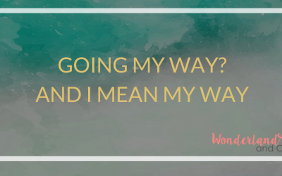 Going MY Way? And I do mean My Way