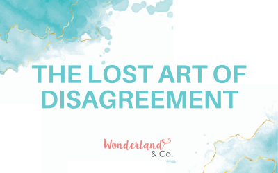 The Lost Art of Disagreement