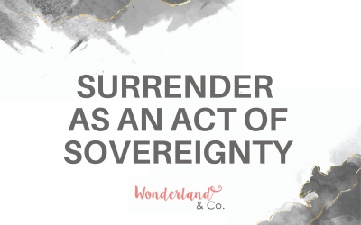 Surrender as an Act of Sovereignty