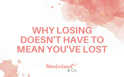 Why Losing Doesn't Have to Mean You've Lost