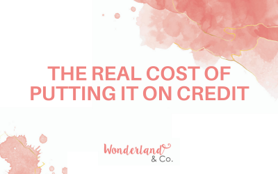 The Real Cost of Putting It on Credit